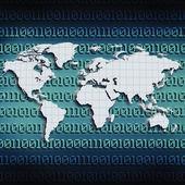 Global internet communications — Stock Photo