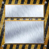 Industrial grungy steel plates — Stock Photo