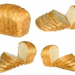 The cut loafs of bread — Stock Photo #13586754