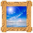 Stock Photo: Isolated frame