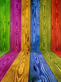 Color wood — Stock Photo