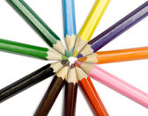 Color pensils — Stock Photo