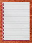 Zápisník — Stock fotografie