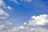 Oblohu s mraky — Stock fotografie