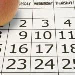 Calendar — Stock Photo #29091039