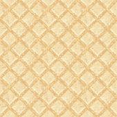 Crisp waffles pattern seamless texture — Stock Vector