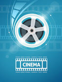 Cinema movie film — Stock Vector