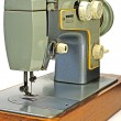 Old electrical sewing machine isolated — Stock Photo #1335676