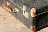 Retro uma mala para viagem — Foto Stock