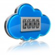 Cloud computing security concept — Stock Photo #10545571