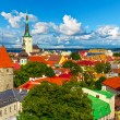 Foto de Stock  : Panorama of Tallinn, Estonia