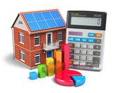 Koncepcja domu finansów — Zdjęcie stockowe
