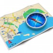 GPS navigation, travel and tourism concept — Stock Photo #13194983