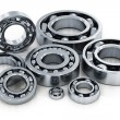 Collection of ball bearings — Stock Photo #13347847