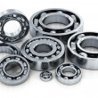 Collection of ball bearings - Stock Photo