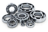 Collection of ball bearings — 图库照片