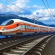 High speed train — Stock Photo #13361312