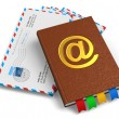 Stock Photo: E-mail, mail and correspondence concept
