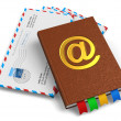 E-mail, mail and correspondence concept — Stock Photo #13408663