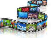 Streaming media concept — Stock Photo