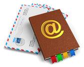 E-posta, posta ve yazışma kavramı — Stok fotoğraf