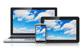 Cloud computing koncepce — Stock fotografie
