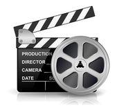 Filmklappa — Stockvektor