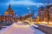 Winter in helsinki — Stockfoto