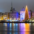 Christmas in Stockholm, Sweden — Stockfoto