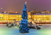 Kerstmis in helsinki, finland — Stockfoto