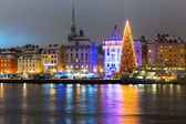 Christmas in Stockholm, Sweden — Stock Photo