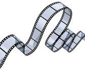 Transparente filmstreifen — Stockfoto