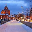 Stock Video: Winter in Helsinki