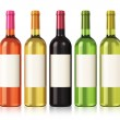 Wine bottles — Stock Photo #18935293