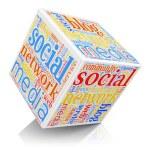 ソーシャル メディアの概念 — ストック写真