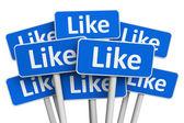 концепция социальных медиа — Стоковое фото