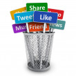 Social media concept — Stock Photo #20021355