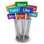 Concept de médias sociaux — Photo