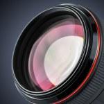 lente de cámara profesional — Foto de Stock