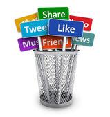 Soziales mediakonzept — Stockfoto