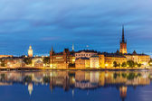 Evening summer scenery of Stockholm, Sweden — Stock Photo