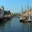 Copenhagen, Nyhavn — Stock Video