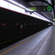 Metro station in Vienna, Austria — Stock Video