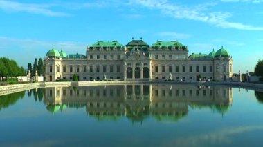 Palais du belvédère à vienne, autriche — Vidéo