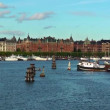 The Old Town in Stockholm, Sweden — Stock Video