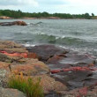 Baltic sea in Scandinavia — Stock Video