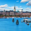 Old Town in Stockhom, Sweden — Stock Photo
