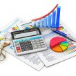 Stock Photo: Finance and accounting concept