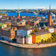 Stock Photo: Aerial panoramof Stockholm, Sweden