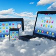 Cloud computing koncept — Stockfoto #21928915